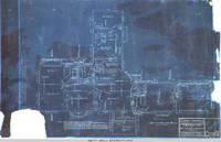 Second floor plan of Grey house