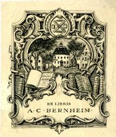 A.C. Bernheim Bookplate