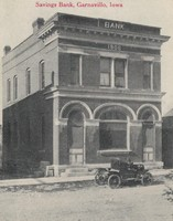 Garnavillo Savings Bank, 1906- Crosby Car