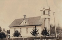 St. Peter Lutheran Church in Garnavillo, Iowa -pre 1937