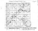 Iowa land survey map of t083n, r039w