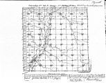 Iowa land survey map of t090n, r046w