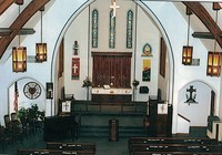 St. Peter Lutheran Church in Garnavillo, Iowa -2000 Interior