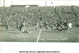 Iowa-Illinois homecoming football game at Iowa Field, The University of Iowa, November 5, 1927