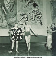Modern art-themed costume dance, The University of Iowa, March 1940