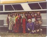 Scottish Highlanders trip to Ann Arbor, Michigan, The University of Iowa, October 29, 1977