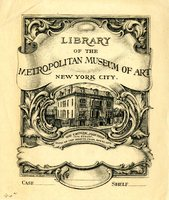 Metropolitan Museum of Art Library: The Cruger Mansion, 1873-1878
