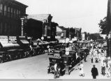 Looking northeast on High Avenue West, Oskaloosa, 1930's; Mahaska County, Iowa
