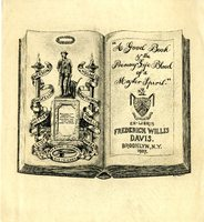 Fredrick Willis Davis Bookplate