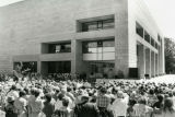 Dedication ceremony for the 3rd addition, 1984