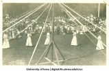 May pole performance at City Park for Senior Frolic, The University of Iowa, 1910s