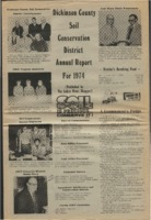 Dickinson County Soil Conservation District Annual Report - 1974.