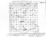 Iowa land survey map of t084n, r020w