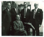 Linguistics faculty in the Department of English, The University of Iowa, 1960s