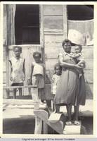 Carmen with family in Tobago