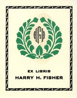 Harry H. Fisher Bookplate