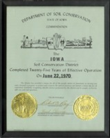 Commendation for twenty-five years of effective operation