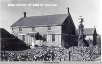 Residence at South Amana, South Amana, Iowa, 1900s