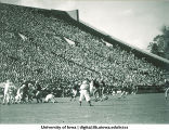 Iowa-Nebraska football game, The University of Iowa, October 12, 1946