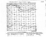 Iowa land survey map of t090n, r015w