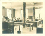 Classroom laboratory in Macbride Hall, the University of Iowa, 1910