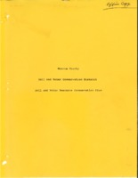 Monroe County Soil and Water Resource Conservation Plan, 1991<br />