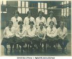1927 volleyball team, The University of Iowa, 1927