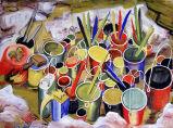 Pigment pots