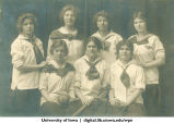 1917 softball team, The University of Iowa, 1917