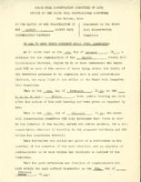 1945 Documenting The Referendum In Favor Of Creating Hardin County Soil Conservation District.