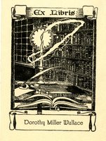 Dorothy Miller Wallace Bookplate