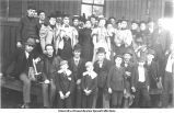 Group of classes at Montpelier, Iowa, 1900s