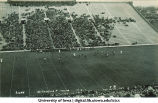 Iowa-Northwestern football game, The University of Iowa, November 21, 1931
