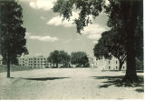 View of Westlawn from the south, The University of Iowa, September 1930