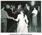 Square dancing, The University of Iowa, 1940s