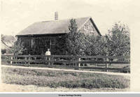 One-story Amana residence, Amana, Iowa, 1900s