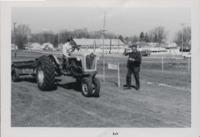 Tractor Participant Enters.