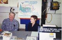 2001 - District Employees Tom Birkenstock and Margaret McLachlan