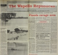 Floods ravage area