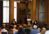 Dedication of Presidential Portrait Gallery with Martin Jischke speaking, 1991