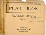 Plat book of Jefferson County, Iowa