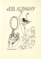 J.B. Alemany Bookplate