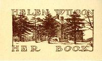 Helen Patricia (Patsy) Wilson Bookplate