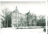 East Hall Annex facing Iowa Avenue, The University of Iowa, 1960
