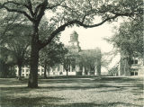 East facing side of Old Capitol, The University of Iowa, 1960s