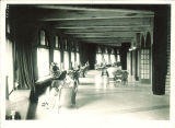 Sunporch off of Main Lounge in Iowa Memorial Union, the University of Iowa, August 1929