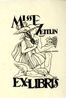 Miss E. Zeitlin Bookplate