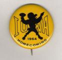 Homecoming badge, October 24, 1964