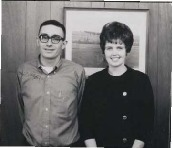 Iowa Achievement Winners of Divsion III - New District Coordinator: Mr. and Mrs. Roger Frink of Fenton, Iowa.