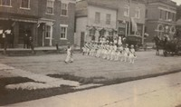 Garnavillo Parade - 1918 July - School girls
